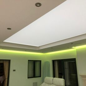 motorised tensioned skylight blinds